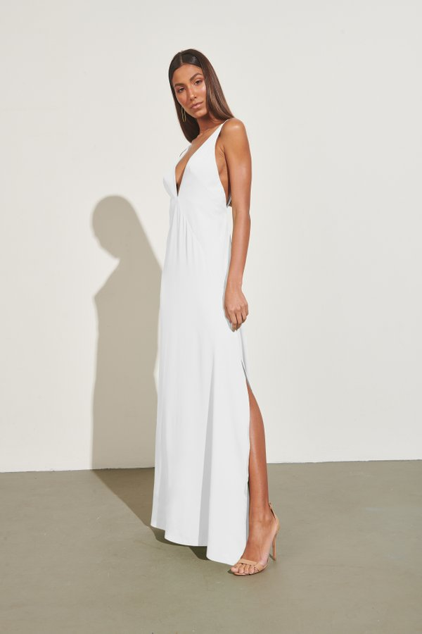 Foto do produto Vestido Split Off-White | Split Dress Off-White