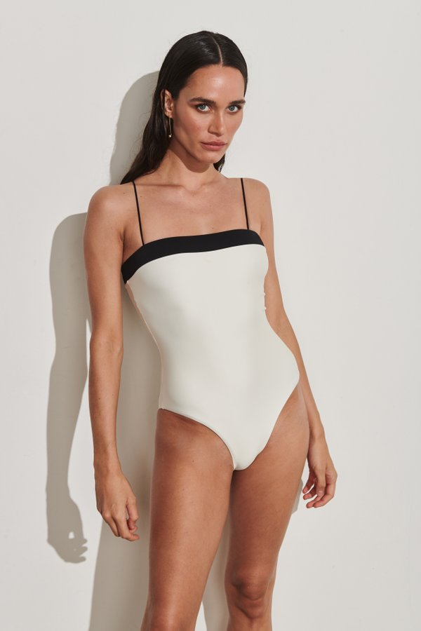 Foto do produto Body Positano Pérola | Positano One-Piece Pearl