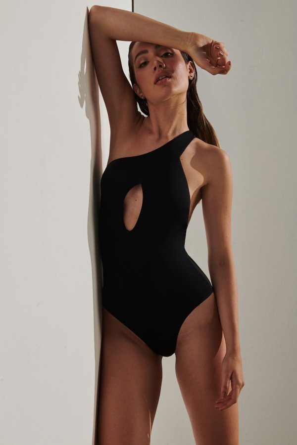 Foto do produto Body Diani Preto | Diani One-Piece Black