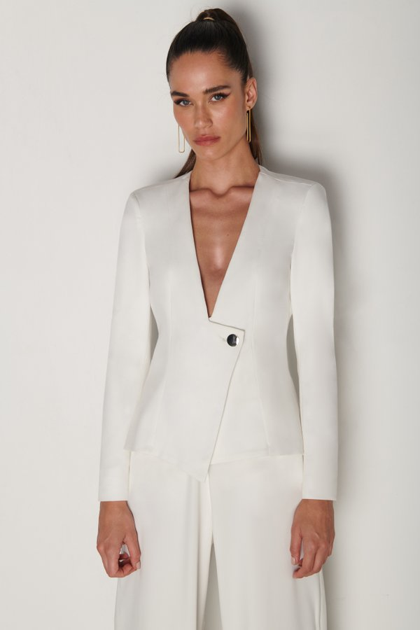 Foto do produto Blazer Clarté Off-White | Clarté Blazer Off-White