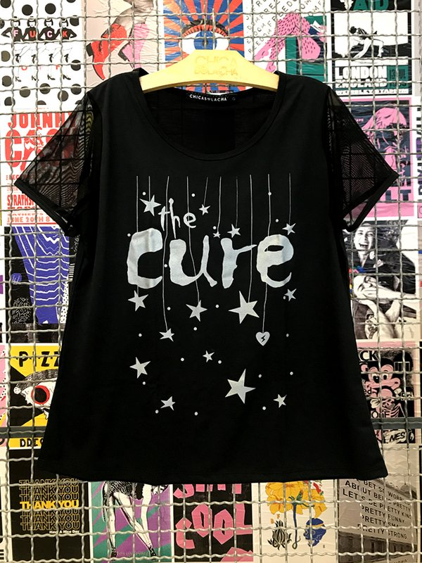 Foto do produto T-SHIRT THE CURE LOVESOUNDS