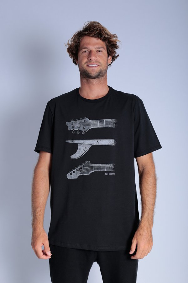 CAMISETA OCEANO SURF MUSIC CONFORT