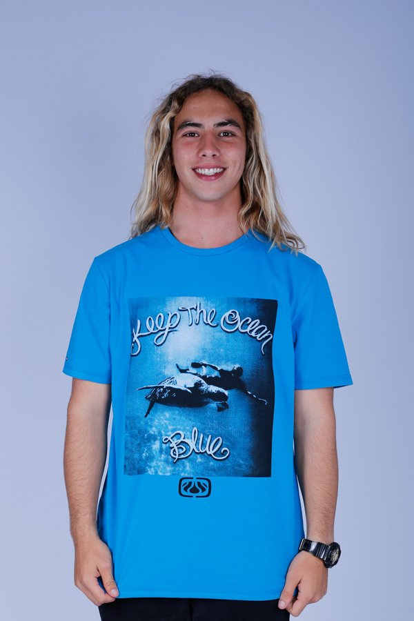 CAMISETA OCEANO TARTARUGA KEEP RECICLE
