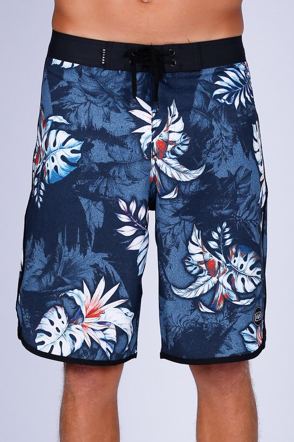 BERMUDA BOARDSHORT OCEANO TROPICAL RETRÔ PERFORMANCE STRETCH