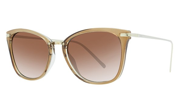 LUIZA GLASSY BROWN / POLARIZED GRADIENT  BROWN