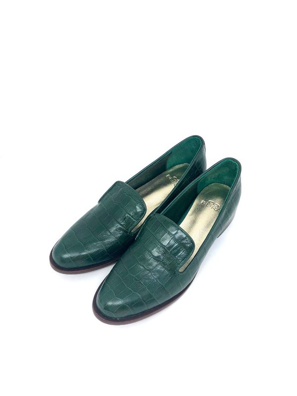 Slipper Liz Croco Verde