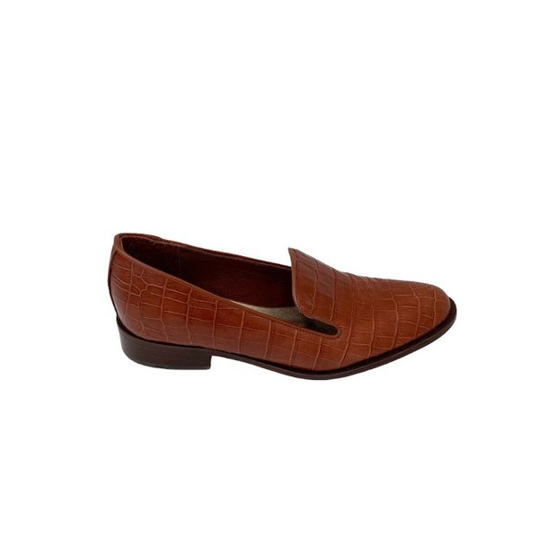 Slipper Liz Croco Caramelo