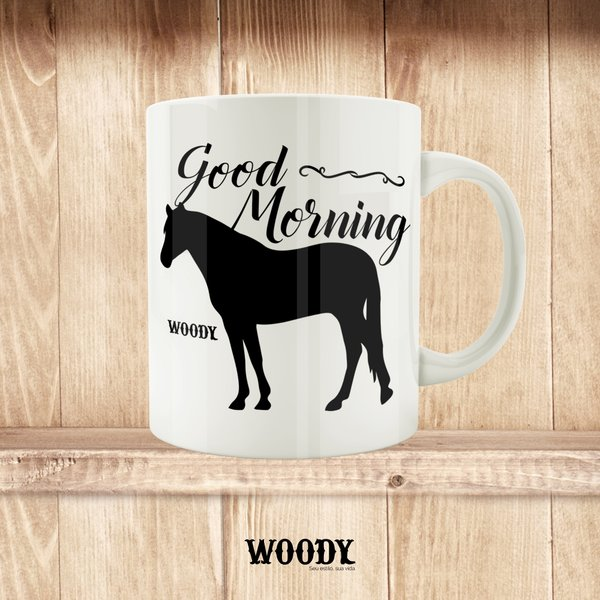 Caneca Good Morning - Woody