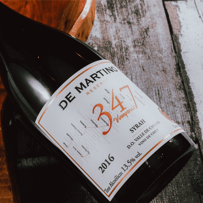 De Martino Syrah Reserva 347 Vineyards 2016 (750ml)