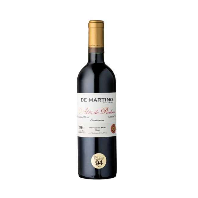 De Martino Carmenere Single Vineyard Alto de Piedras 2015 (750ml)
