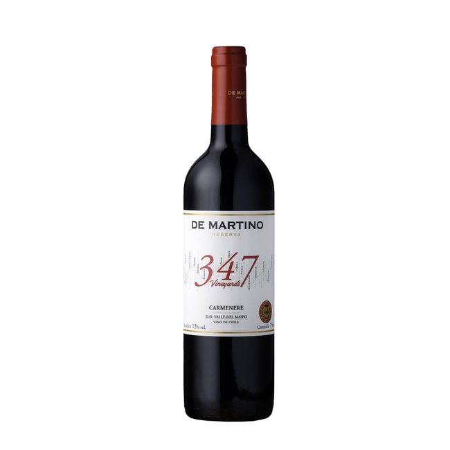 De Martino Carmenere Reserva 347 Vineyards 2016 (750ml)