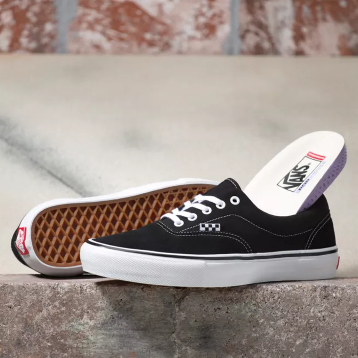 TÊNIS VANS SKATE ERA BLACK/WHITE