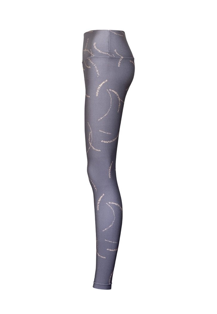 Legging Lycra Cós Estampada Paris Onix