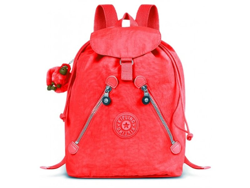 Mochila Kipling Fundamental Poppy Red