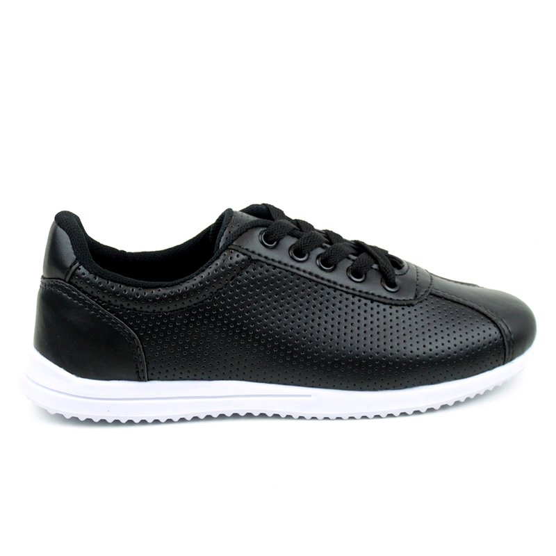 Tenis Tag Shoes Napa Lasercut Preto