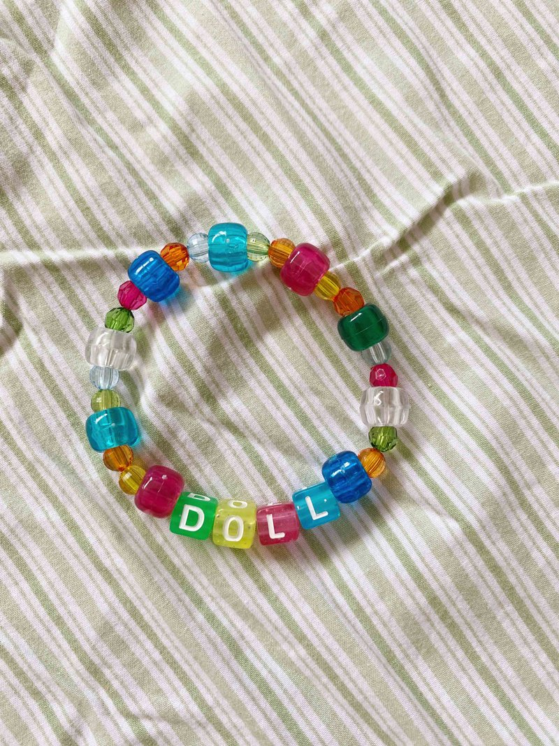 Pulseira Beads Doll
