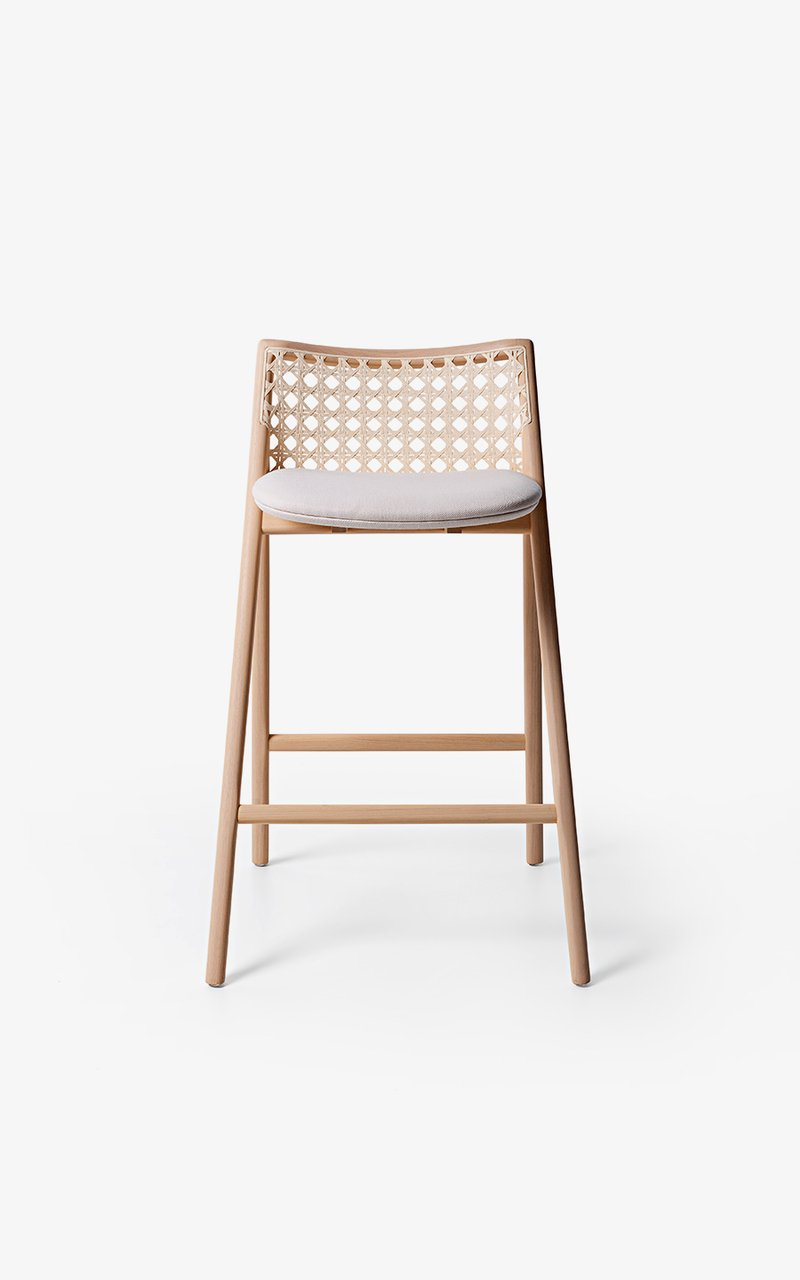BANQUETA TELA | TELA HIGH STOOL