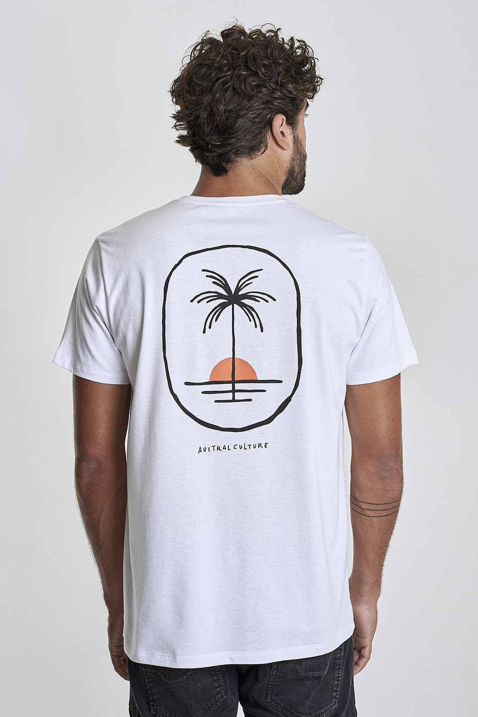 Camiseta Austral Palm Tree Branca