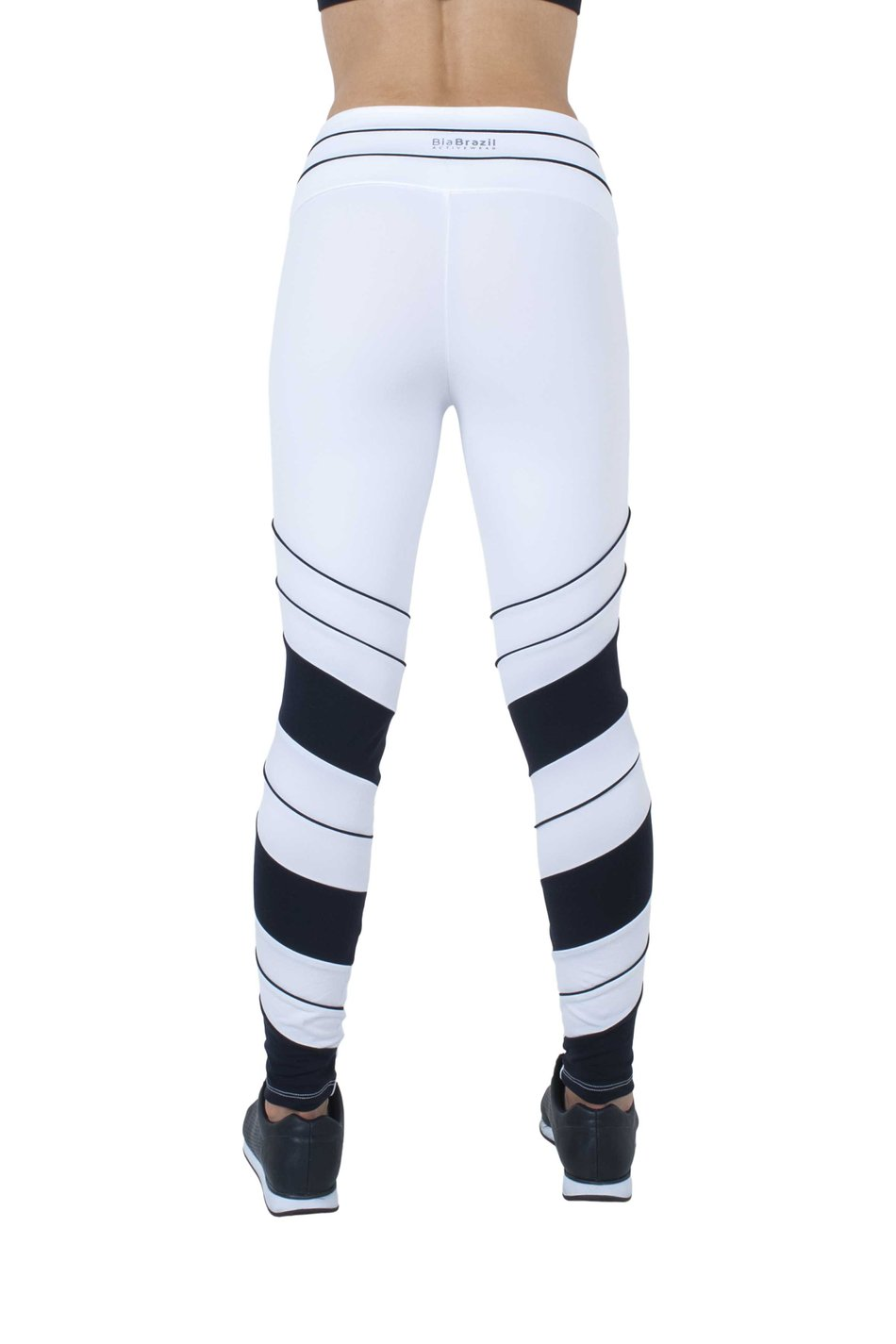 Legging Energy White and Black