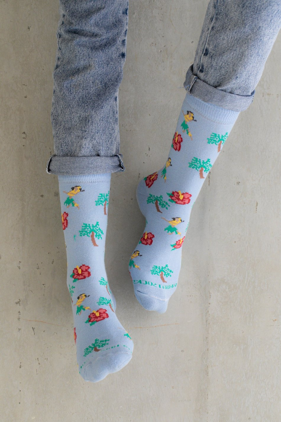 MEIA HULA HULA - THE RABBIT SOCKS