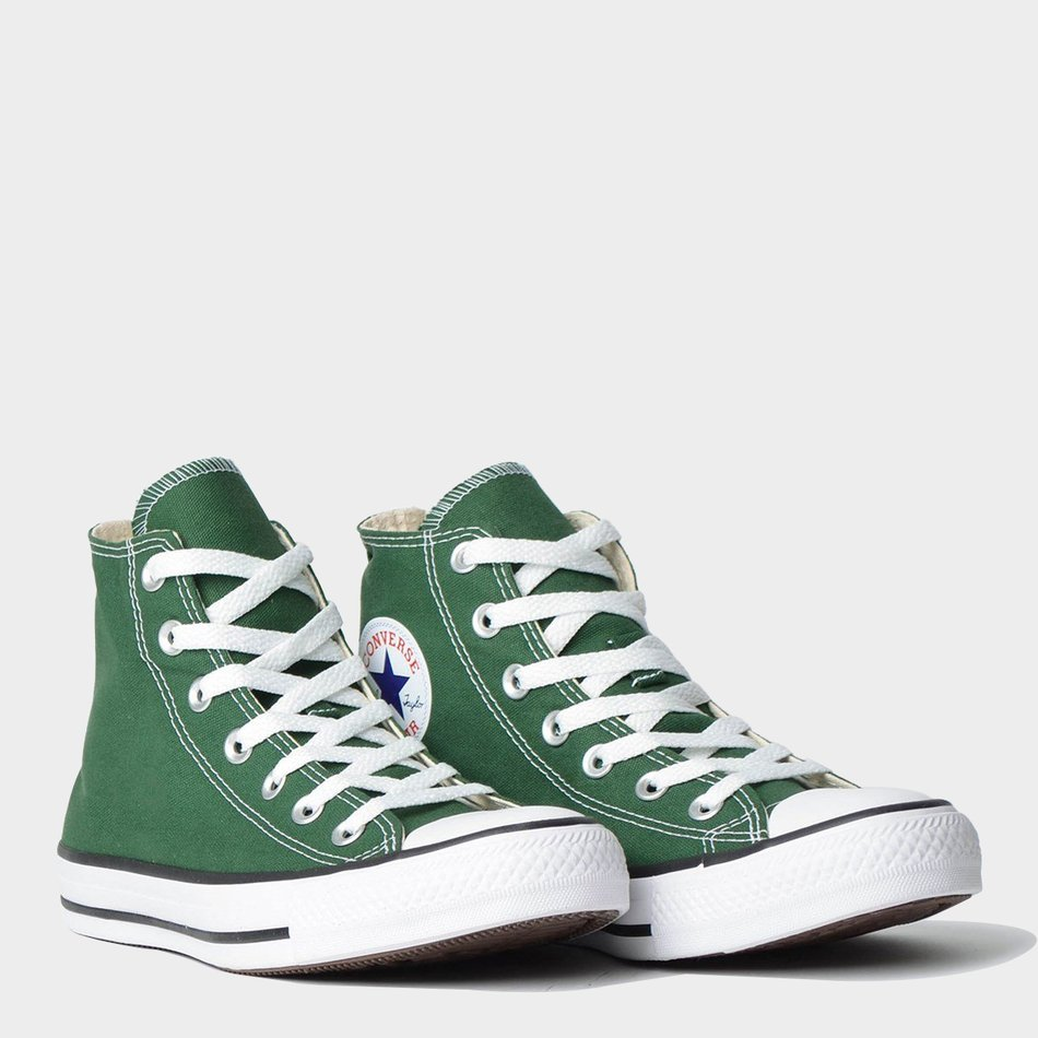 af109d7828 Tênis Converse All Star Chuck Taylor As Core Hi Verde Floresta - Lacali