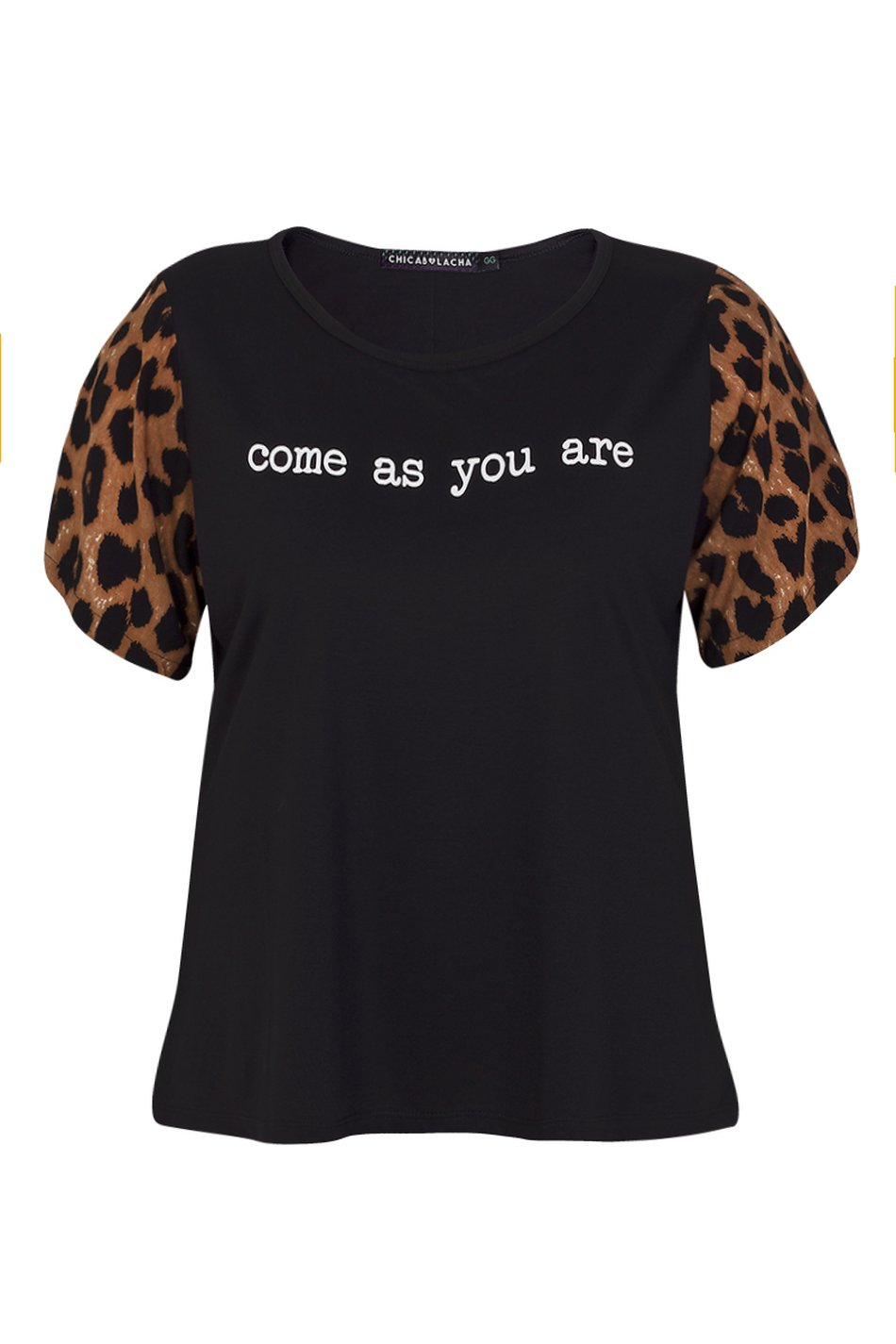 T-SHIRT COME AS YOU ARE
