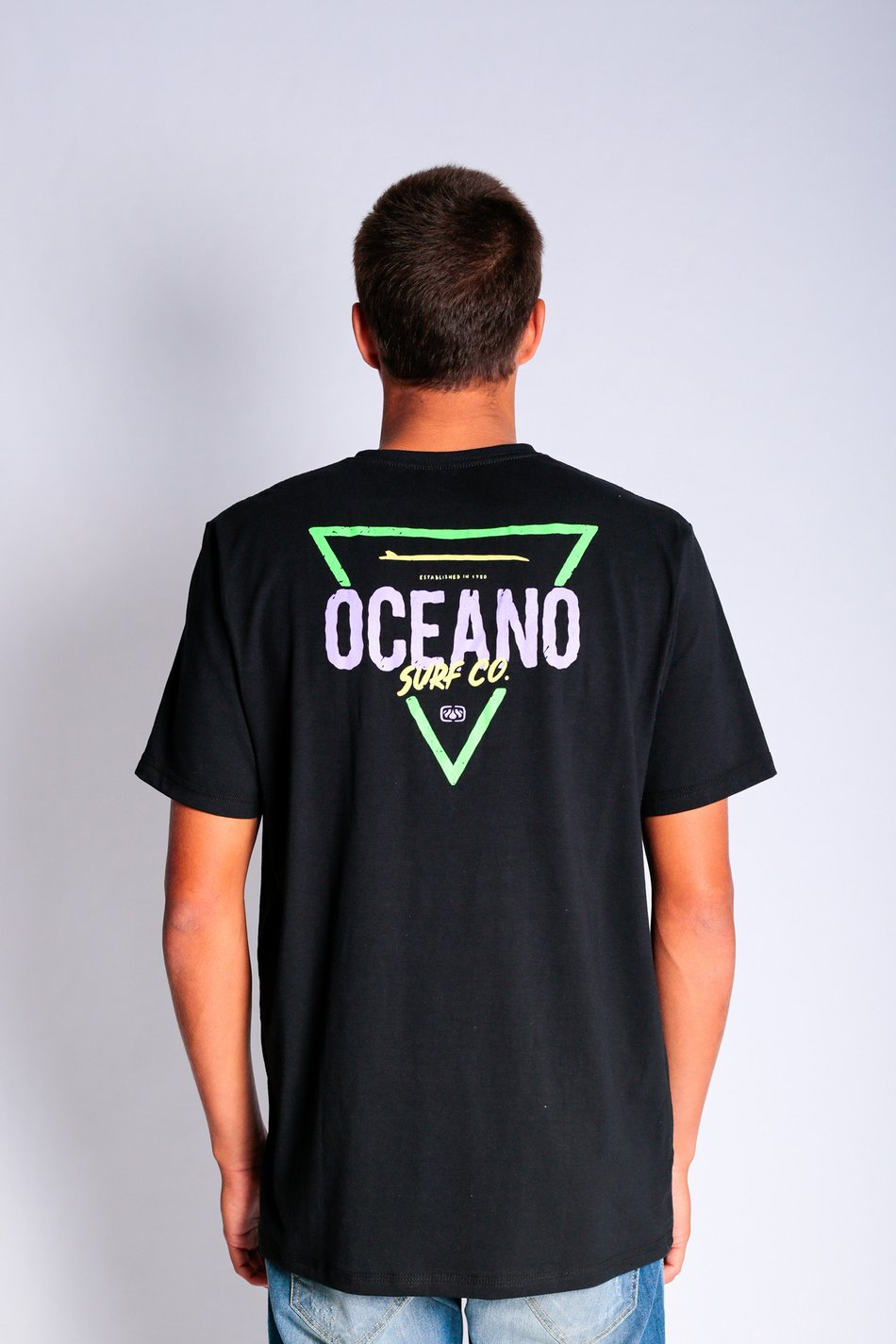 CAMISETA OCEANO ESTAMPA COSTAS COTTON 40