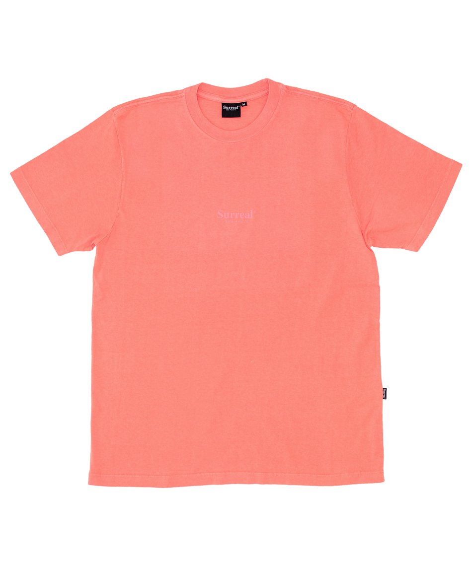 Camiseta Surreal Basics Coral