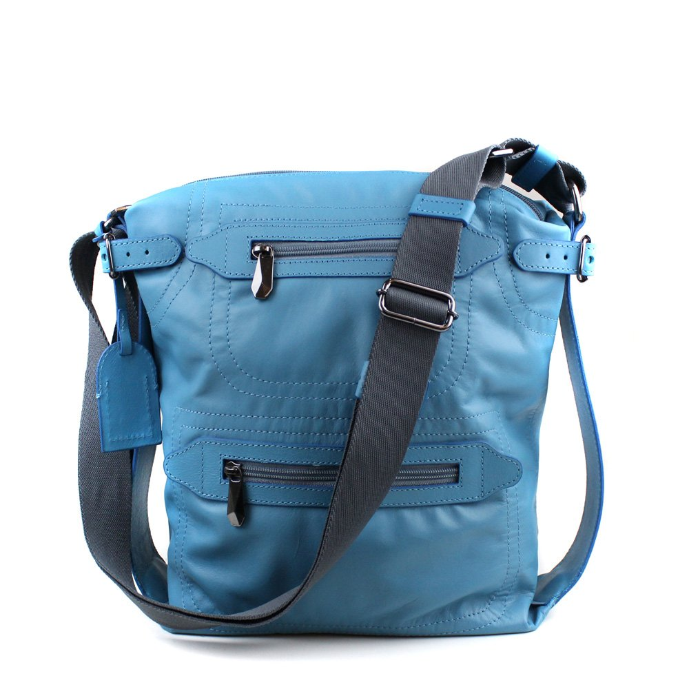 BOLSA CRISTOFOLI CROSS BODY AZUL