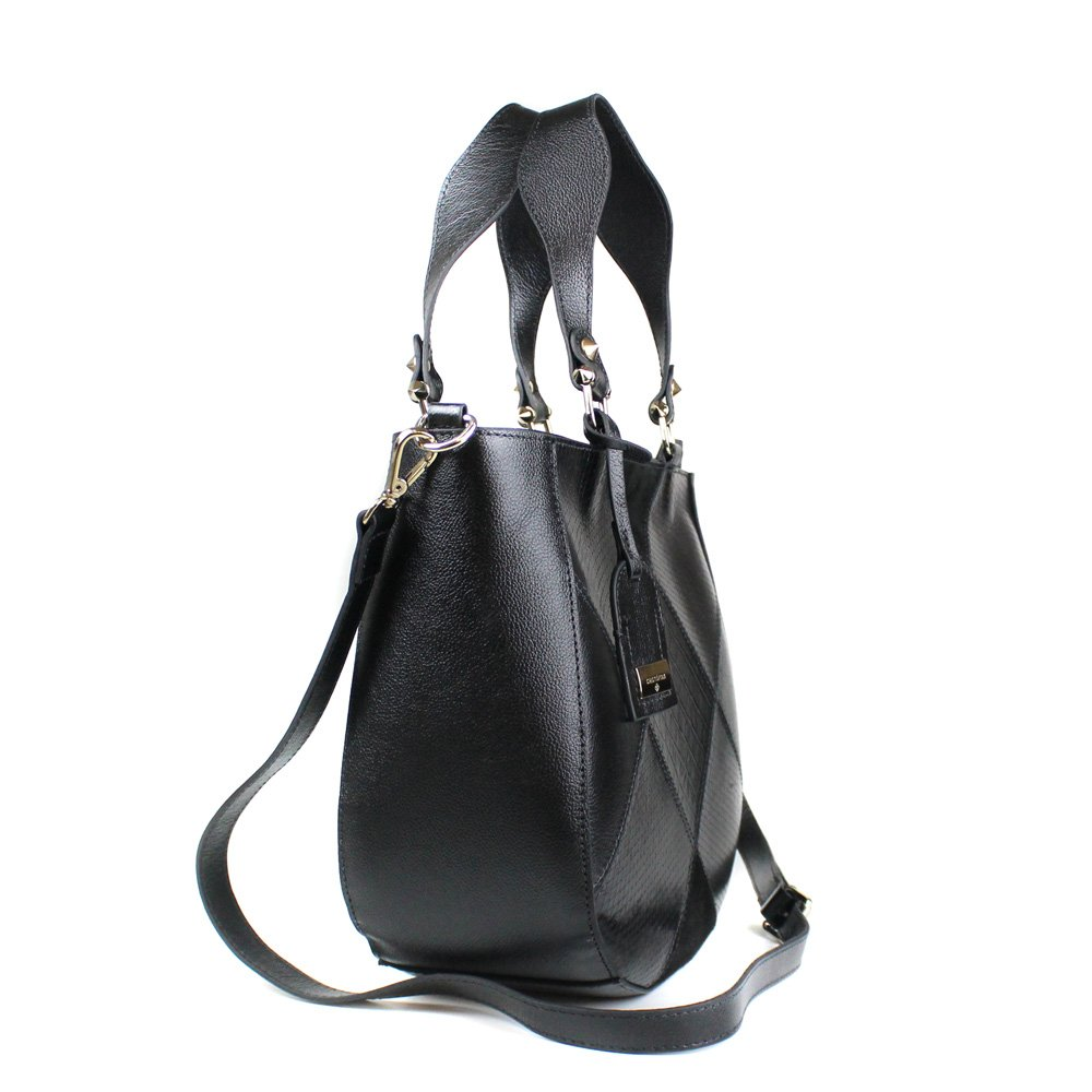 BOLSA CRISTOFOLI SHOPPING BAG PRETO