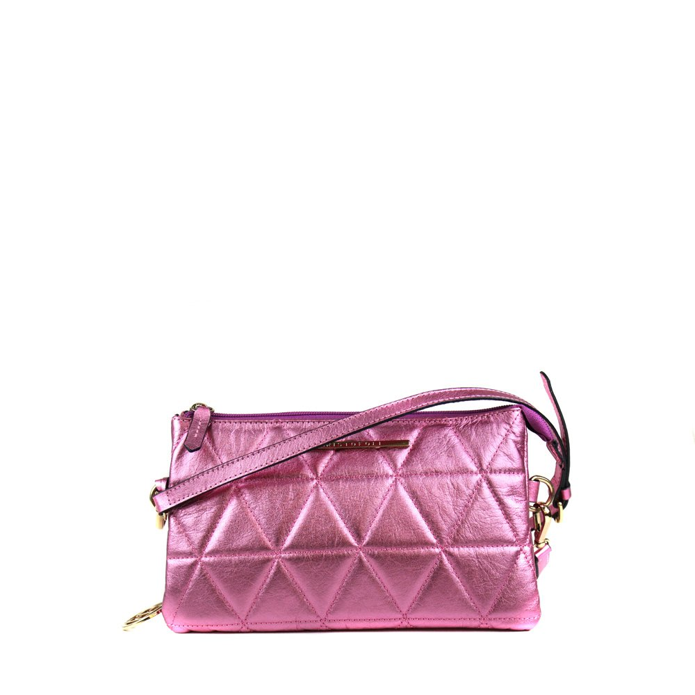 Bolsa Cristofoli Cross Body Magenta