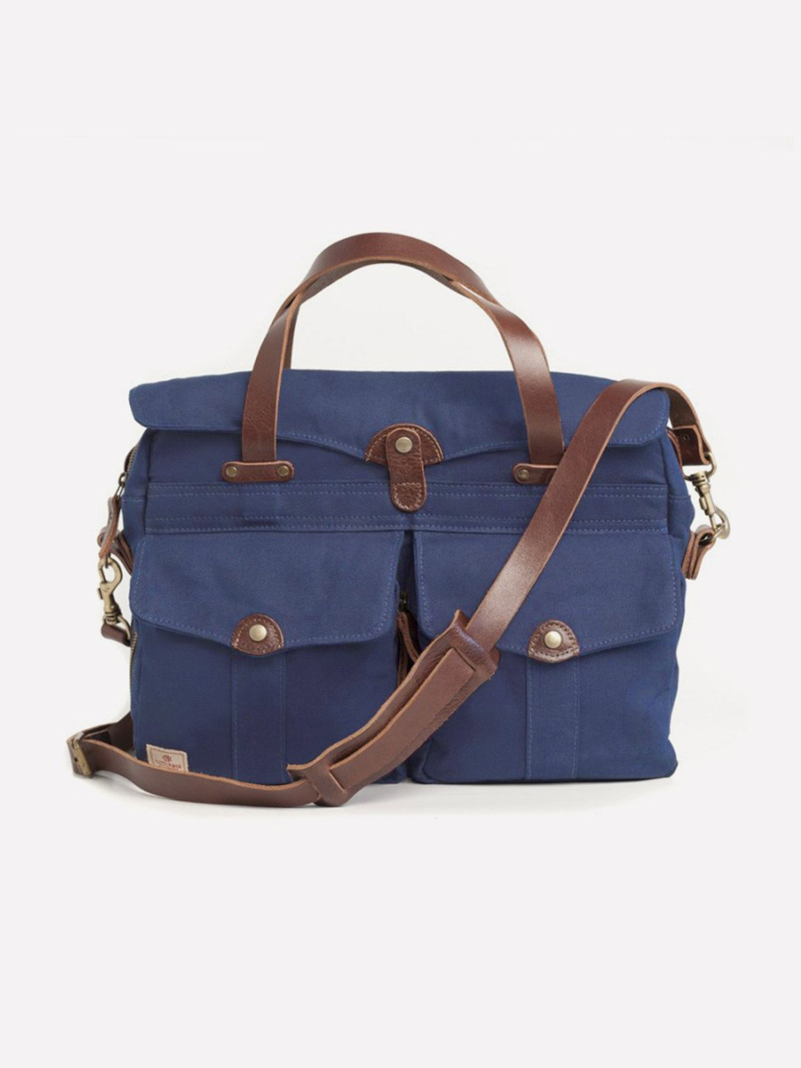 Foto do Pasta Cutterman Co Heritage Briefcase - Indigo