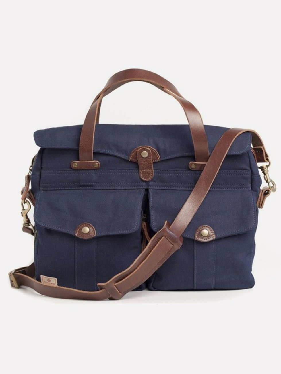 Foto do Pasta Cutterman Co Heritage Briefcase Navy