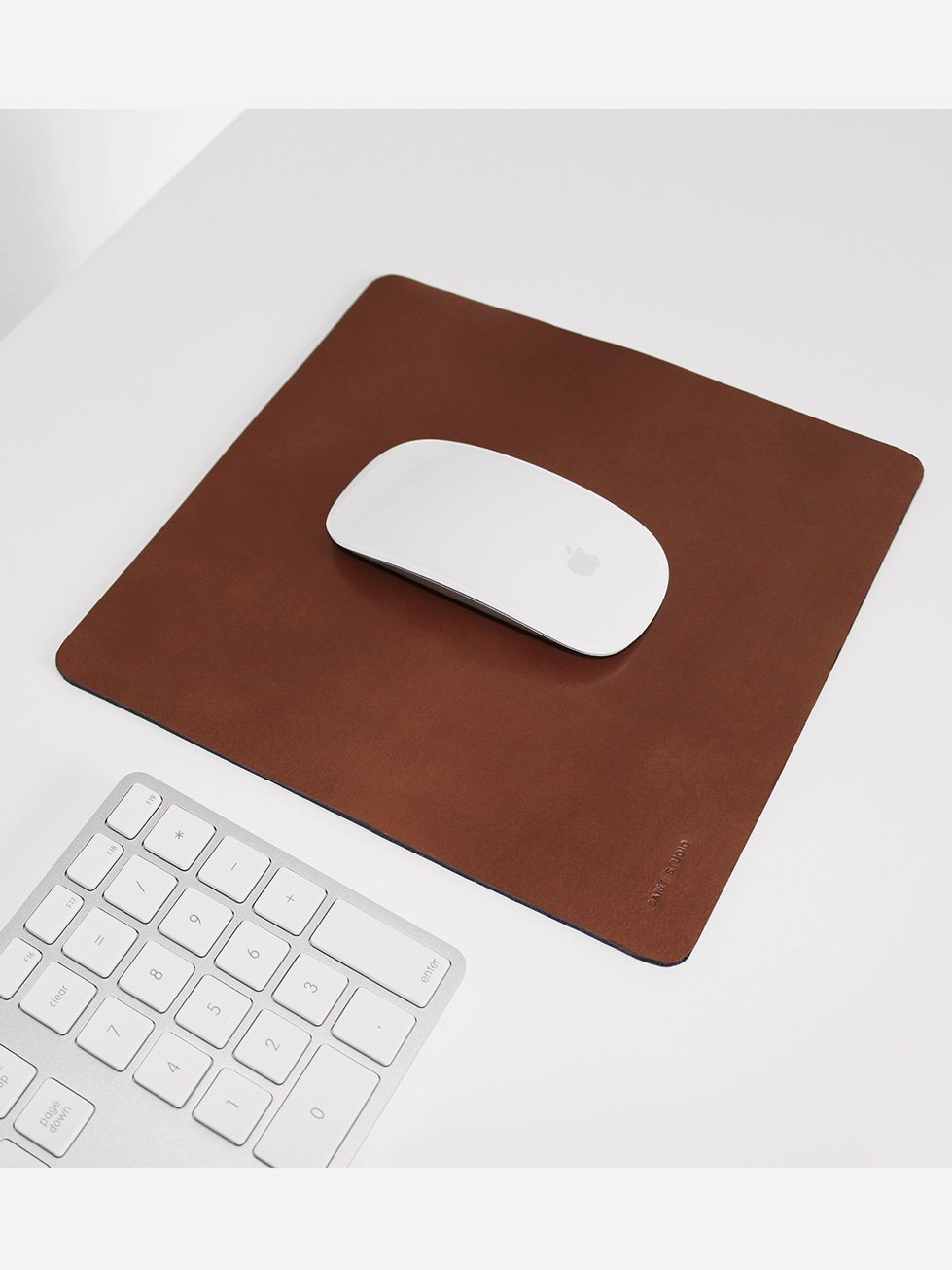Foto do Mousepad Saint Studio Couro Brown