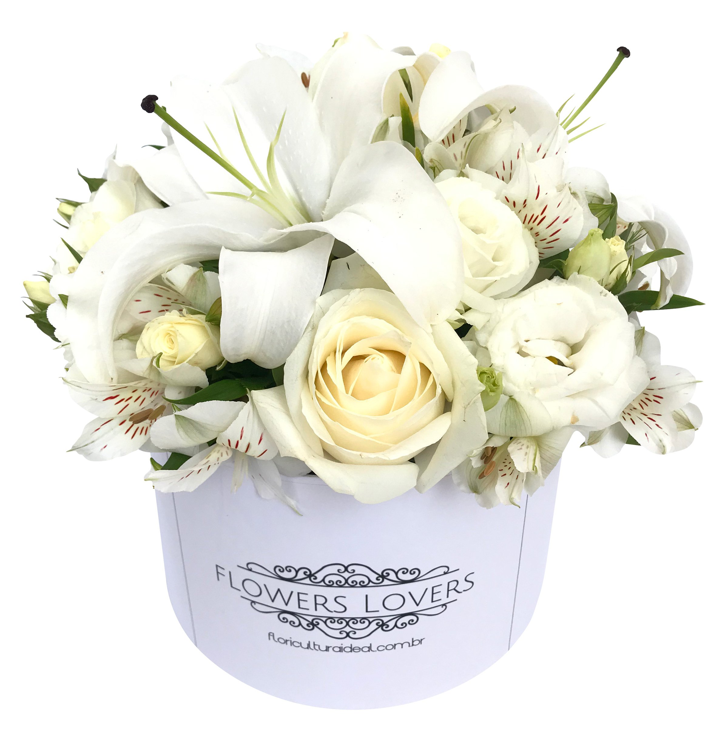Foto do produto Box Flower White
