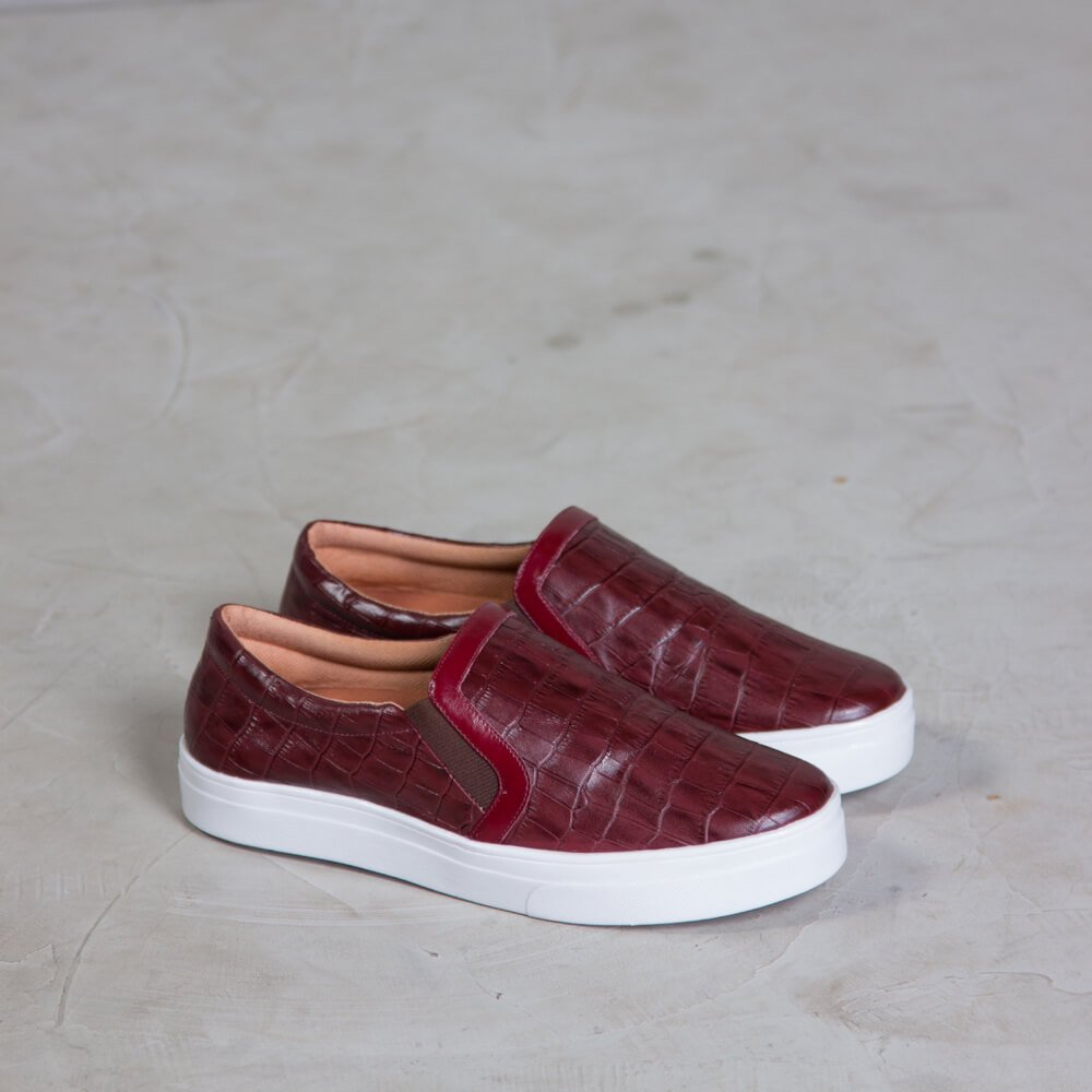 SLIP ON EVE - CROCO VINHO