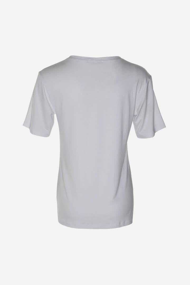 T-shirt white com bordado