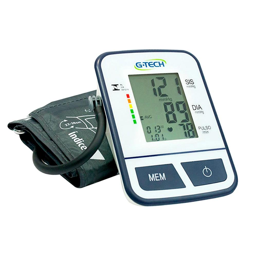 8acb11225 Aparelho Medidor de Pressão Digital Automático de Braço G-Tech ...