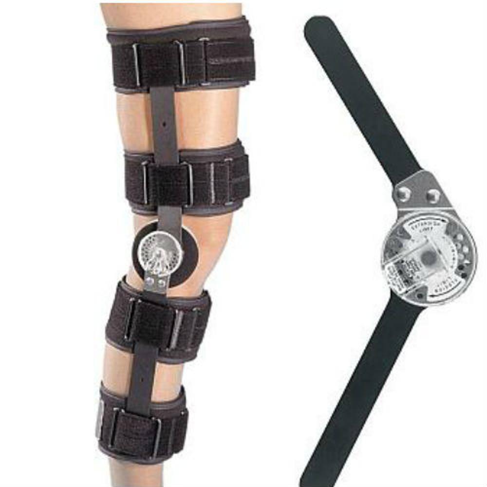Joelheira Ortopédica Tipo Brace Articulada Knee Ranger Lite Donjoy Endurance 3e5f957793d9f
