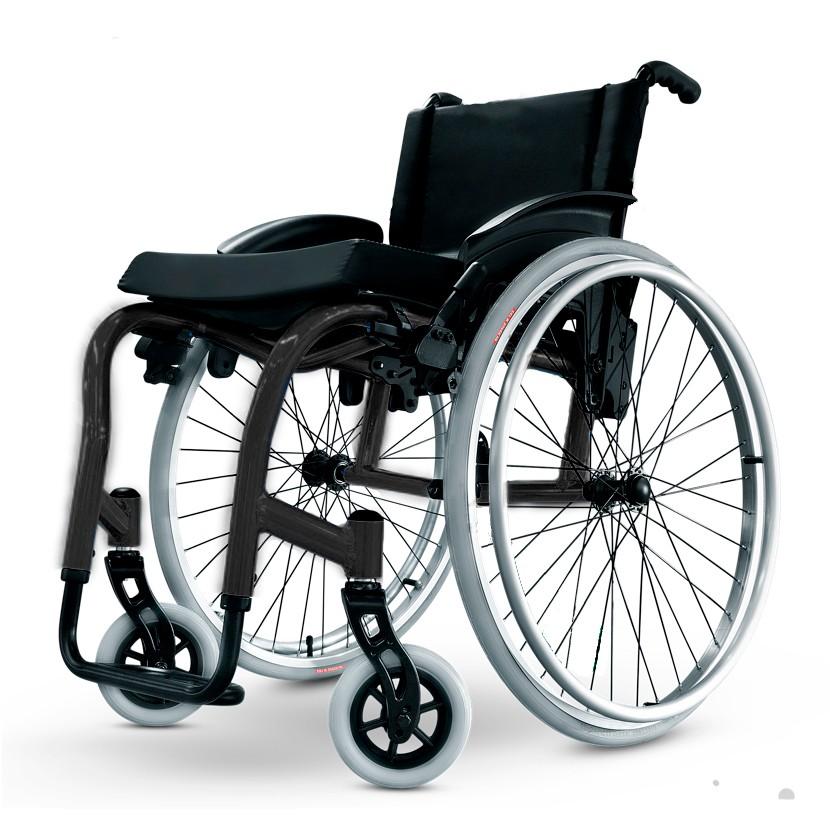 c7e177062 Cadeira de Rodas Monobloco Star Lite Ortobras Alumínio Peso Leve. Next