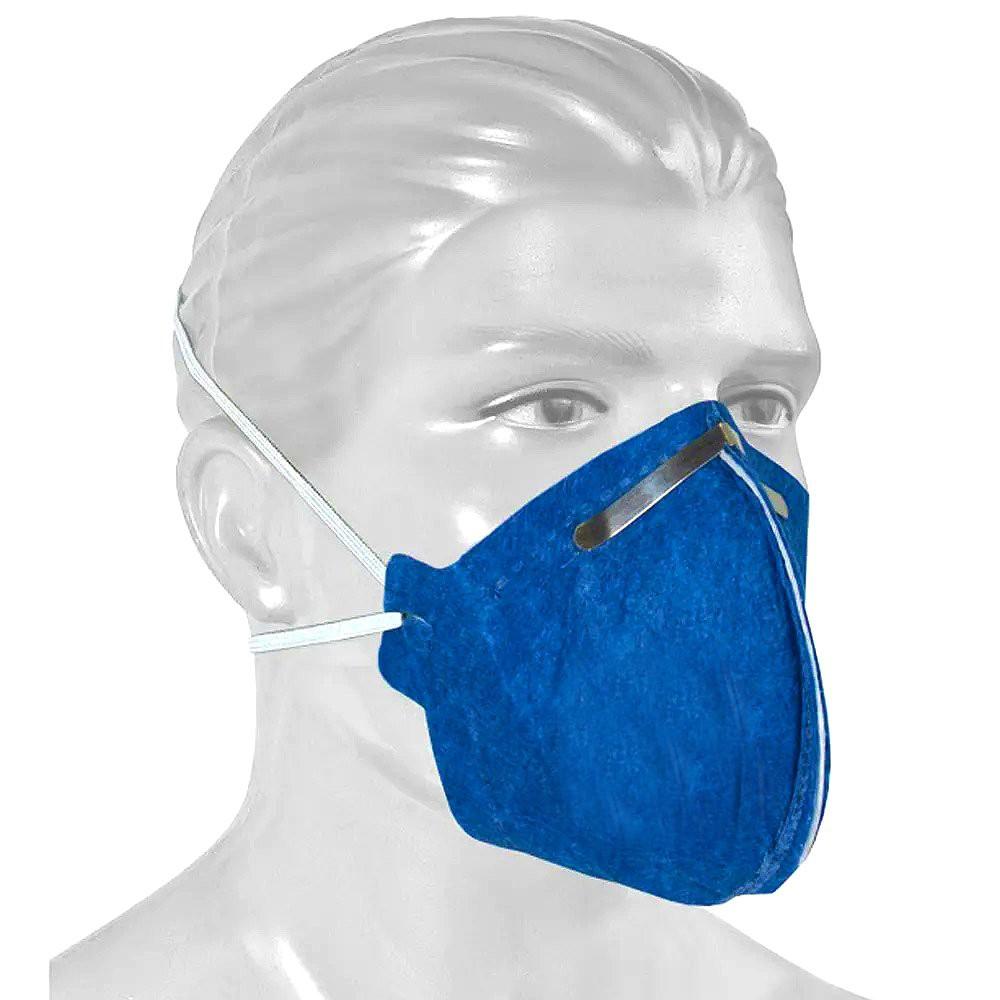 Máscara Descartável de Proteção Respiratória N95 PFF2 - 10 ...