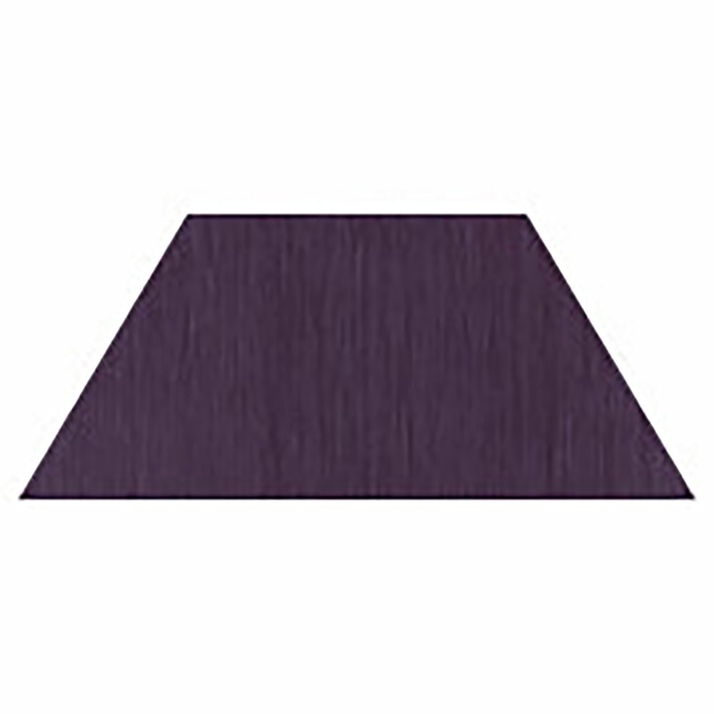 PISO AMBIENTA MAKE IT TRAPÉZIO 23,75 CM X 47,5 CM REF.: 413 - DARK PURPLE