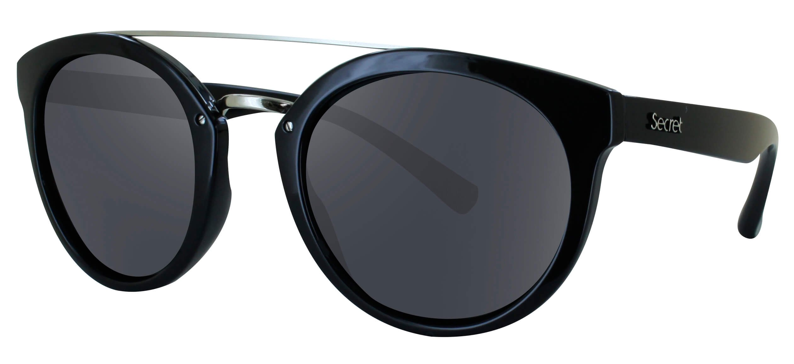 ÓC SECRET QUEENS GLOSS BLACK / POLARIZED GRAY