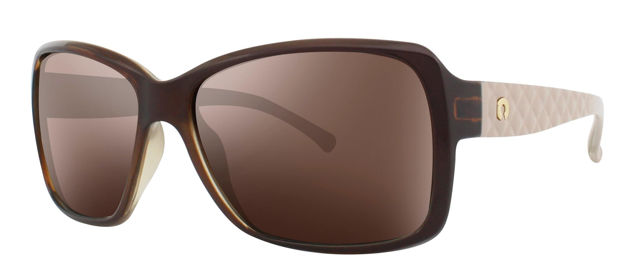 ÓC SECRET KATE BROWN COGNAC/NUDE / POLARIZED GRADIENT BROWN