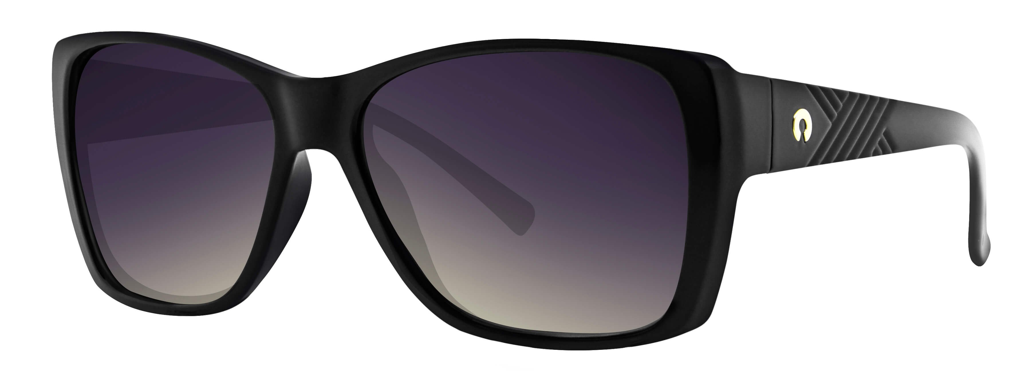 ÓC SECRET SIENNA GLOSS BLACK / POLARIZED GRADIENT GRAY