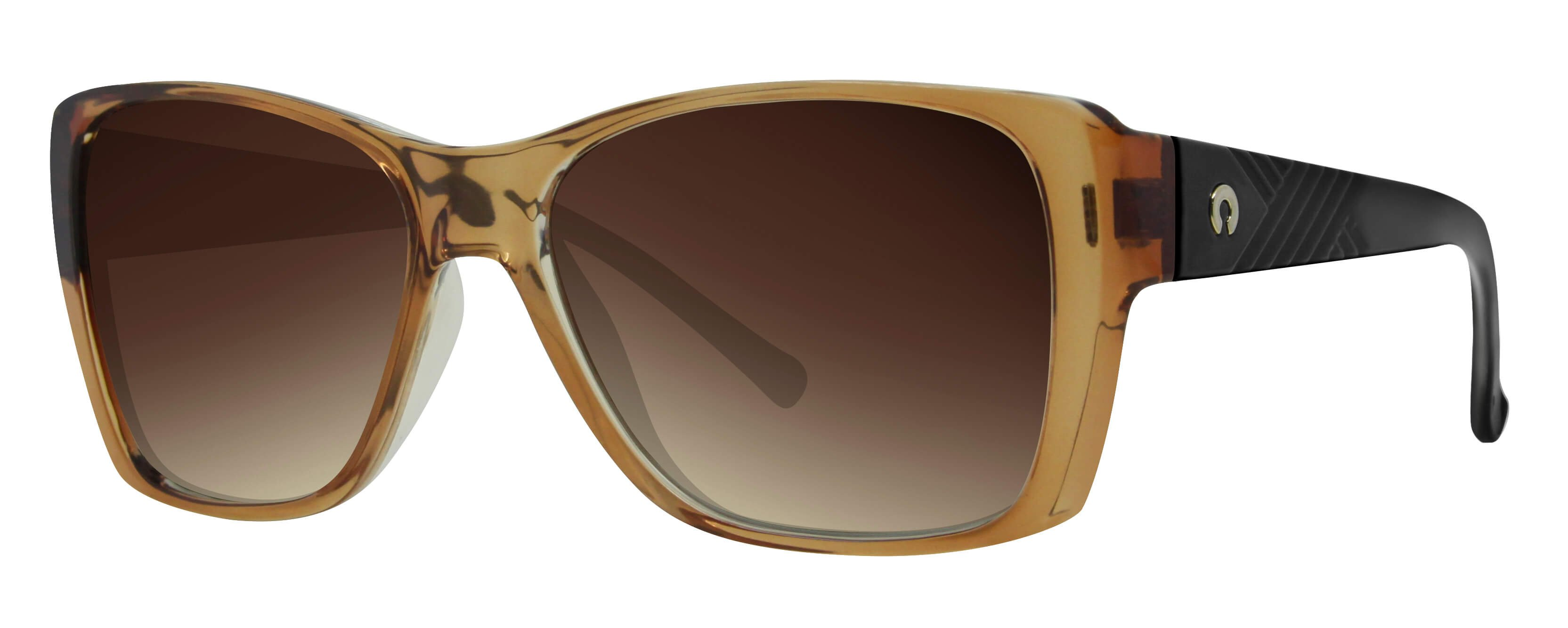 ÓC SECRET SIENNA GLASSY CREAM/BROWN / POLARIZED GRADIENT BROWN