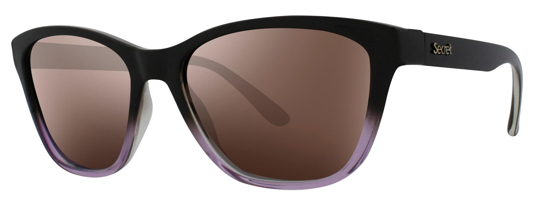 ÓC SECRET NARA FADE BROW/GLASSY PURPLE / POLARIZED BROWN