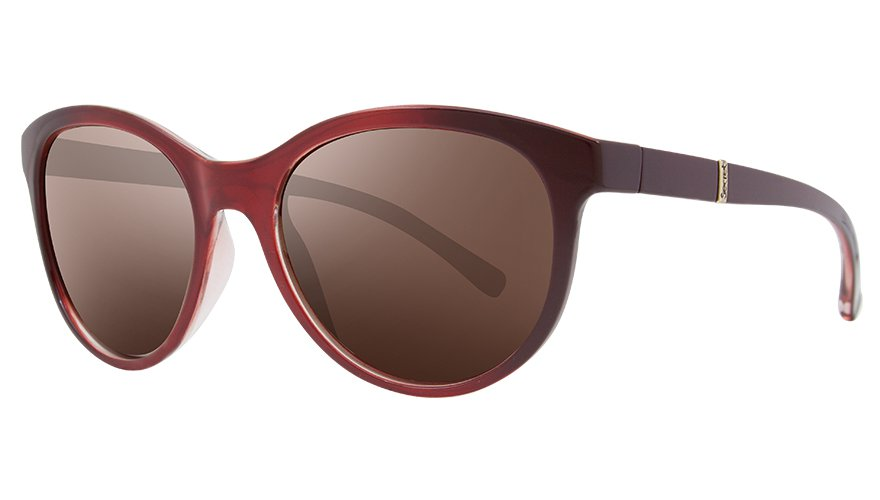 YASMINE GRADIENT HORIZONTAL RED / POLARIZED GRADIENT BROWN