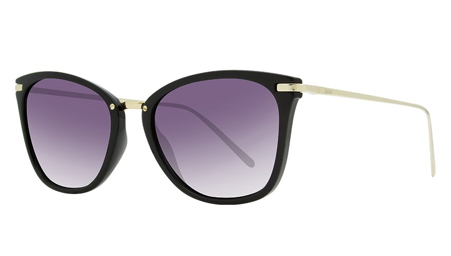 LUIZA GLOSS BLACK / POLARIZED GRADIENT GRAY