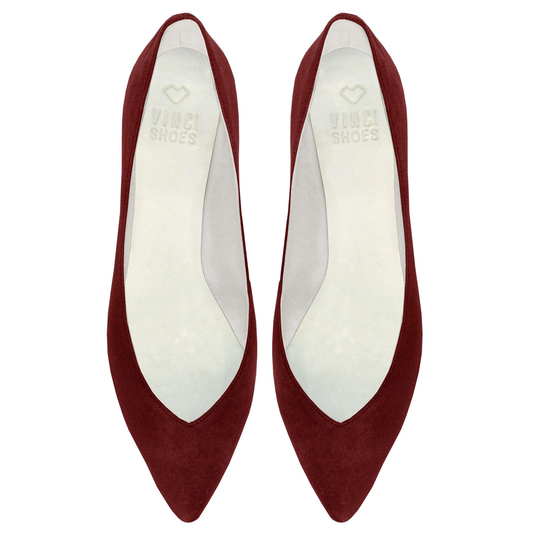 fa63497805 Sapatilha Candice Bordeaux - Vinci Shoes